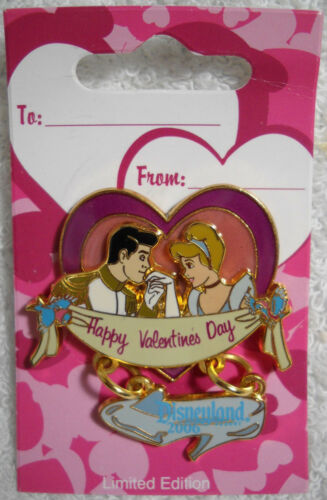 Cinderella Prince Charming Valentines Day 2006 LE Dangler Disney Pin NEW