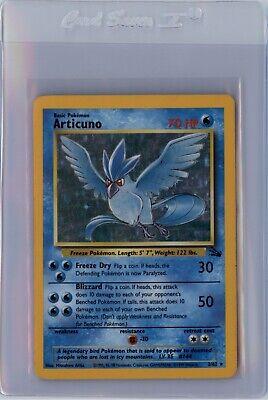 POKEMON CARD FOSSIL Articuno 2/62 HOLO FOIL RARE