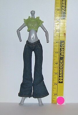 MGA CLOTHES OUTFIT SET FOR MONSTER HIGH GIRL DOLL LOT #40 PANTS & SHIRT - Monster High Outfits For Girls
