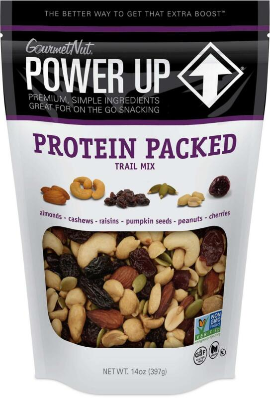Power Up Trail Mix, Protein Packed 14 Ounce (Pack of 1), Purple