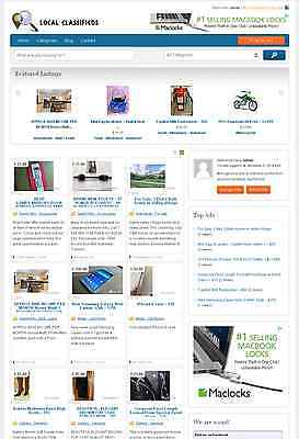 Professional Classifieds Directory Website Free Hosting