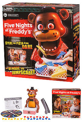 Five Nights At Freddys   Family Spinner Board Game Steal His Pizza If You Dare