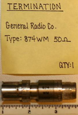 Gr874 Termination 50 Ohm Model Gr874wm