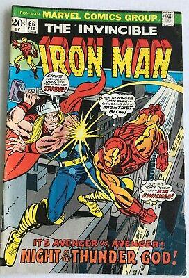 Invincible Iron Man #66 vs The Mighty Thor  (Ironman Vs Thor)