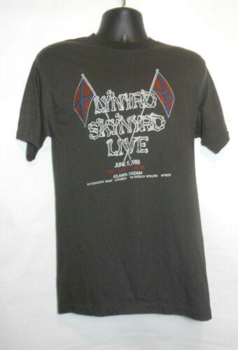 Original Vintage 1988 Lynyrd Skynyrd Atlanta Size XL Concert Shirt Southern Rock