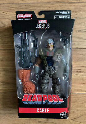 Cable Marvel Legends Series Deadpool Series Sasquatch BAF Jim Lee X-Force X-Men