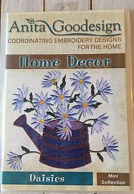 Anita Goodesign Daisies Mini Collection Embroidery Machine Design CD