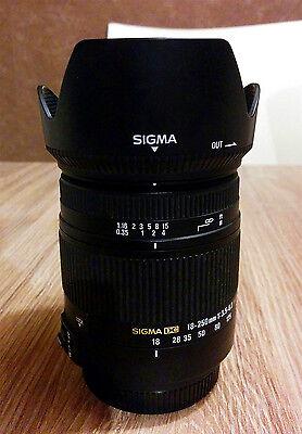 Sigma 18-250 mm DC Makro HSM Objektiv für Sony Alpha A Mount