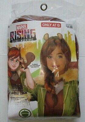 NIP-Rubie's Marvel Rising Secret Warriors-Squirrel Girl Halloween-Child's Wig](Secret Squirrel Halloween Costume)