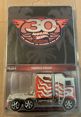 hot wheels thunder roller 30th Annual