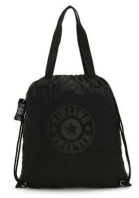 Kipling HIPHURRAY PACKABLE Medium Foldable Tote Bag - Black Light