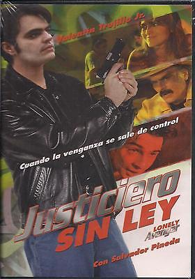 Justiciero Sin Ley / Lonely Avenger Dvd Valentin Trujillo Jr Factory Sealed