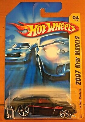 Hot Wheels 2007 New Models '69 Ford Mustang Black OH5 #4