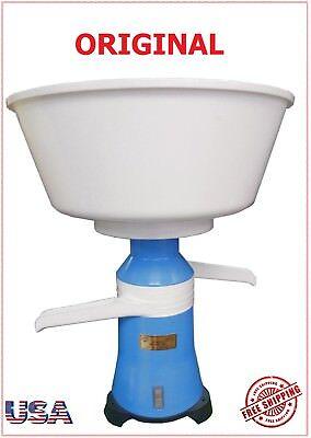 110v Milk Separator Cream Drainer Automatic Centrifugal Separador Leche Slavic