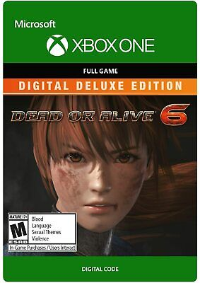 DEAD OR ALIVE 6 Deluxe Edition (Xbox One, X|S) - Digital code...