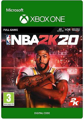 NBA 2K20 XBOX ONE FULL GAME KEY