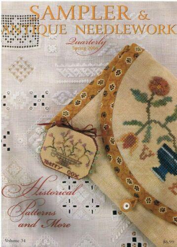 Sampler & Antique Needlework Quarterly Spring 2004