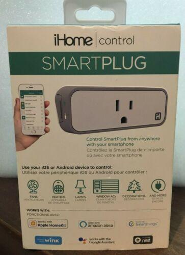 iHome Control Smart Plug  Wi-Fi for IOS and Android Smartplug
