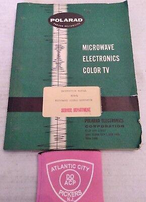 Polarad Msg-4 Microwave Signal Generator Instruction Manual