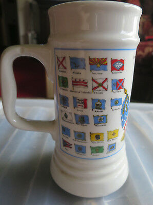 Beer Stein German American Wander Club Numberg 1993