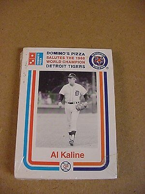Detroit Tigers Dominos 1968 World Champion 1988 Set New Sealed Promo