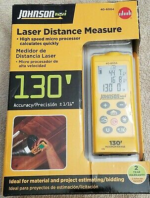 Johnson Laser Distance Measure 40-6004 New
