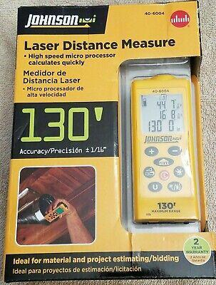 Johnson Laser Distance Measure 40-6004 New
