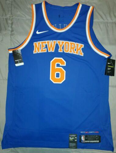 Nike New York Knicks Kristaps Porzingis #6 Authentic Jersey