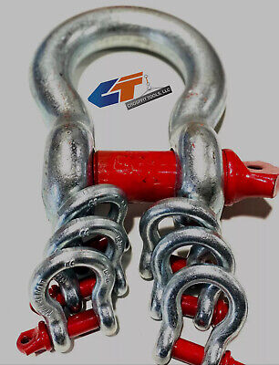 38 To 2 Shackle Screw Pin Anchor Clevis Bow Lifting Pulling