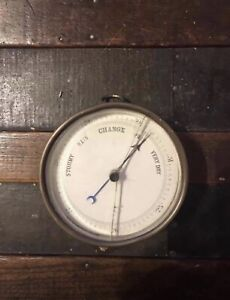 Antique Weather Dial / Barometer (Not Working)