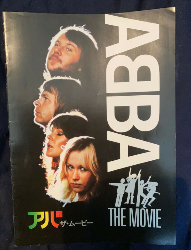ABBA Rare ABBA The Movie Japanese Programme