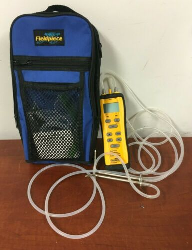 Fieldpiece SDMN6 Dual Port Manometer And Pressure Switch Tester