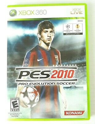 PES Pro Evolution Soccer Microsoft XBOX 360 Video Game Rated E Spanish for sale  Shipping to Nigeria