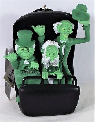 Disney Parks Exclusive Haunted Mansion Hitchhiking Ghosts Doom Buggy Ornament