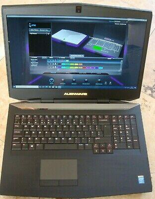 Alienware 17 Gaming Laptop i7 4910MQ 32GB Bluray 3D Screen SSD RAID 1TB