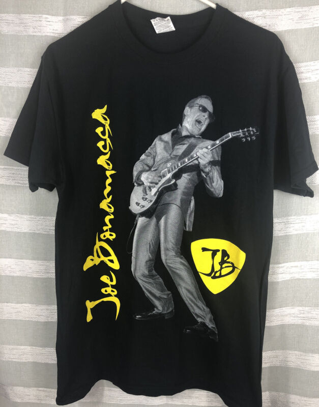 Joe Bonamassa Tour Shirt Spring 2015 Live In Concert NWOT Never Size Medium NEW