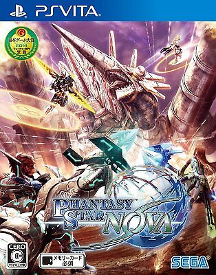 Used PS VITA Phantasy Star Nova Region Free import Japan