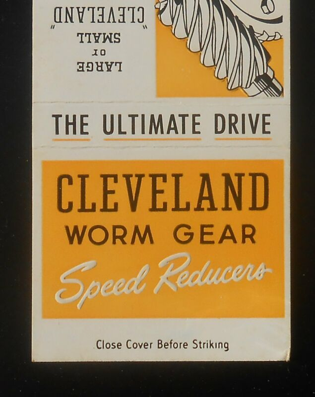 1960s Cleveland Worm Gear Speed Reducers Worm & Gear Co. E. 80th St Cleveland OH