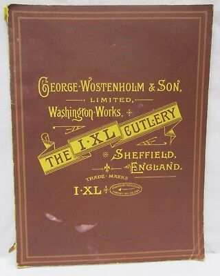 George Wostenholm & Son IXL Cutlery Sheffield England Knives 1975 First Edition