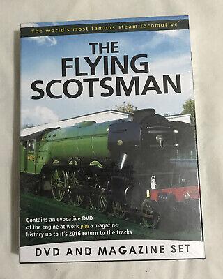New Sealed Flying Scotsman DVD & Magazine Box Set Christmas Gift Train Lover