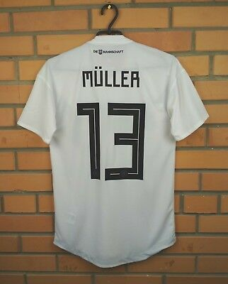 366b3d624 Muller Germany climachill soccer medium 2018 2019 match issue shirt Adidas