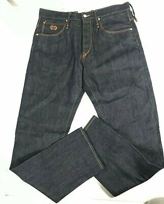 Garbstore Selvdge Jeans GE-188 PA in R16 Wash Ex-Paul Smith Designer ~ Sz. 30