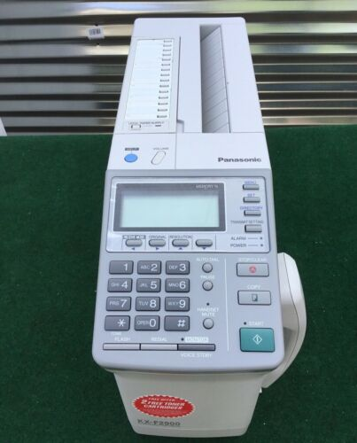PANASONIC FAX MACHINE KX-F2900, BRAND NEW, RARE, FAST SHIPPING