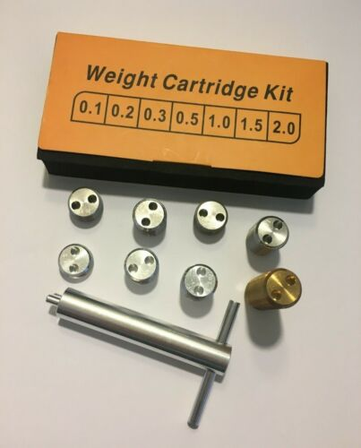 Customized Uni-Loc Weight Cartridge Kit/Weight bolts for Predator Cues - New