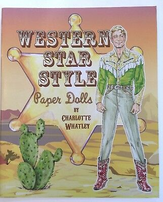 WESTERN STAR STYLE Paper Dolls w/Movie & TV Costumes from Westerns-SPECIAL PRICE - Western Style Costumes