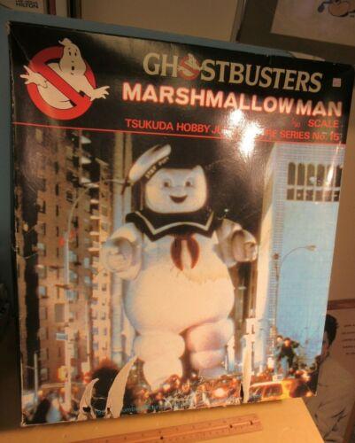 "Tsukuda GHOSTBUSTERS Stay Puft MARSHMALLOW MAN 1/90 Scale Jumbo Figure MIB 14"""