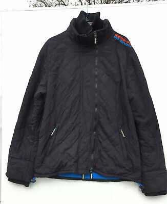 Superdry Men's Original Windcheater Black Jacket Japan Size XXL