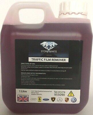 Traffic Film Remover 1L and Superfoam 1000ml Car Wash Snow Foam Lance TFR 1L