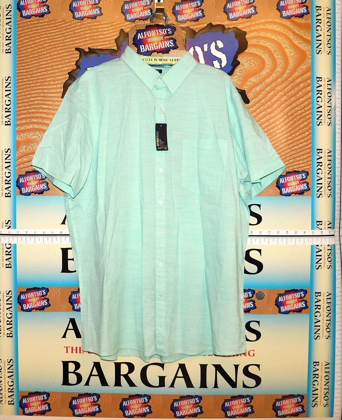 Apt 9. Mens Short Sleeve Flex Shirts Reg $16.99  B&T $19.99