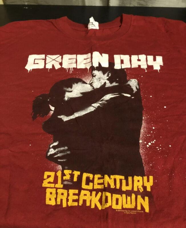 Green Day Concert Shirt 21st Century Breakdown Size 2xl